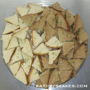 Finger Sandwich Triangles