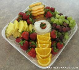 Fresh Fruit Tray Pieces