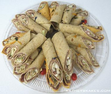 Ham & Cheese Wraps & Roast Beef Wraps
